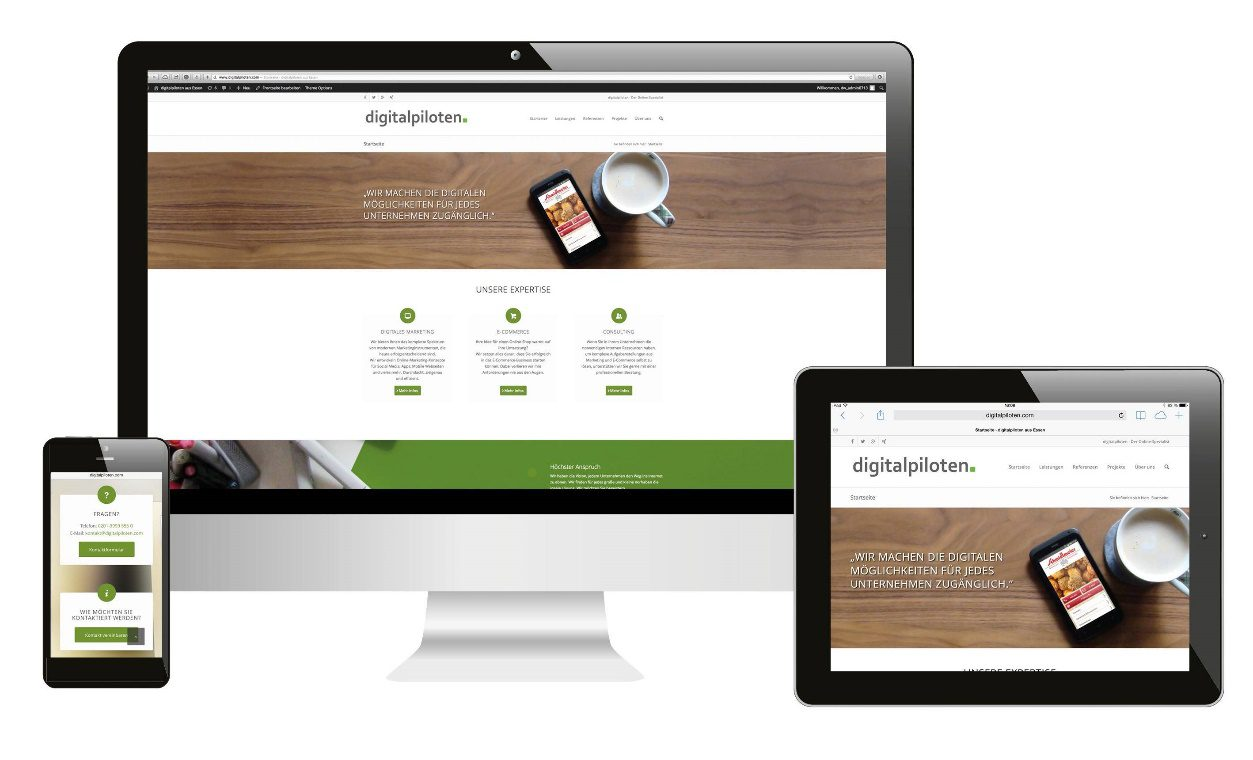 We create modern, responsive websites to give you and your business the online presence you need.