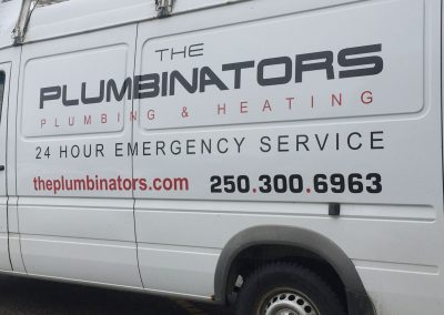 The Plumbinators Van