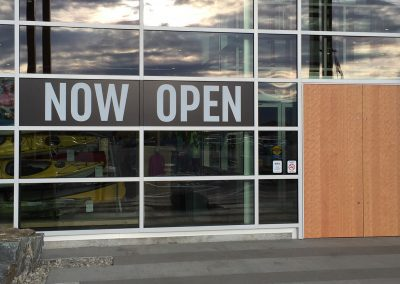 NOW OPEN Lettering